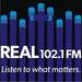 Real 102.1 - KFIM-LP Logo