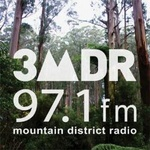 3MDR 97.1 FM Logo
