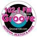 102.1 The Groove - WGVY Logo