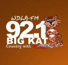 WDLA 92.1 Big Kat - WDLA-FM