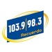 Recuerdo 103.9&98.3 - KRCD Logo