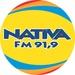 Rádio Nativa FM 91.9 Logo
