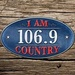 I Am Country 106.9 - WDVH Logo