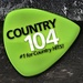 Country104 - CKDK-FM Logo