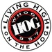 95.7 The Hog - WHOG Logo