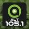 Alt 105.1 - WGHL Logo