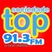 Rádio Sociedade TOP FM Logo