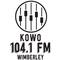 Wimberley Texan Radio - KOWO Logo