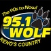 94.9/95.1 The Wolf - KRFN-HD2 Logo