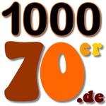 1000 Webradios - 1000 70er Logo