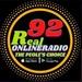 92 Real Online Radio Logo