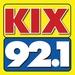 Kix 92.1 - WKXY Logo