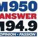 The Answer - W235CR Logo