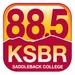 88.5 FM KSBR Logo
