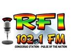 RFI 102.1FM Logo