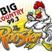 Big Country 99.3 - The Rooster - KUNQ Logo