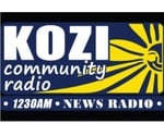 News Radio 1230 - KOZI Logo