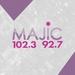 Majic 102.3 & 92.7 - W248BN Logo