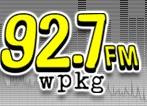 92.7 FM wpkg - WPKG