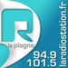 R' La Plagne, La Radiostation Logo