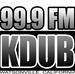 99.9FM KDUB - KDUB-LP Logo