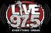 Live 97.5 - WKTT Logo