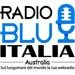 Radio Blu Italia Australia Logo