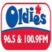 Oldies Radio 96.5 & 100.9 FM - WHVO Logo