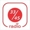 33 45 Radio Logo