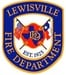 Lewisville Fire Department Logo