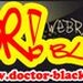 Web Rádio Doctor Black! Logo