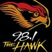 98.1 The Hawk - WHWK Logo