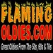 Flaming Oldies Radio Logo