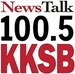 NewsTalk 100.5 - KKSB Logo