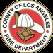 Los Angeles County, CA Fire North ANF, CAL FIRE Logo