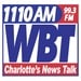 News-Talk 1110 - WBT Logo