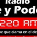 Fe y Poder Radio 1220 AM Logo