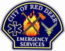 Red Deer County, AL, Canada Fire, EMS, City Public Works, RCMP