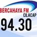Radio Bercahaya 94.3 FM Cilacap Logo