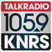 Talk Radio 105.9 - KNRS-FM Logo
