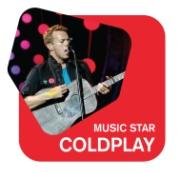 Radio 105 - Music Star Coldplay