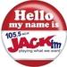 105.5 Jack FM - WZJK Logo