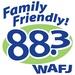 88.3 WAFJ - WAFJ Logo