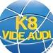 Rádio e TV K8 Logo