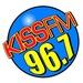 96.7 KISS FM - KISN Logo