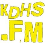 KDHS 95.5 FM - KDHS-LP Logo