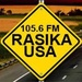 105.6 FM Rasika USA Logo