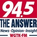 94.5 WGTK The Answer - WGTK-FM Logo