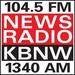 KBNW News Radio - KWLZ-FM Logo