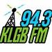 94.3 KLGB FM - KLGB-LP Logo